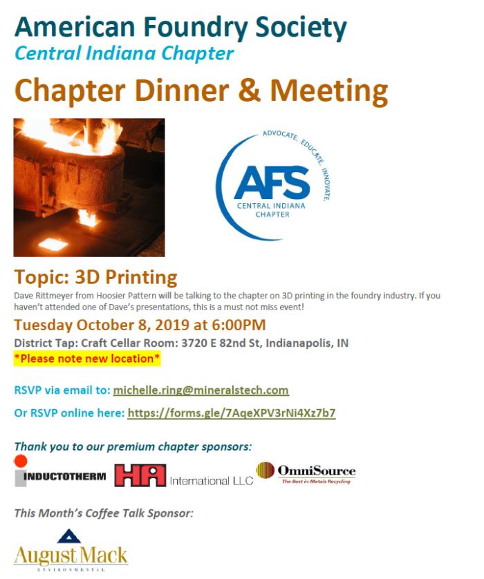 AFS CIC October 2019
